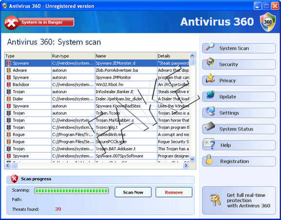 how to remove all antivirus software