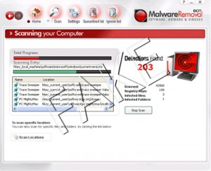 Malware Removal BOT rogue anti-spyware