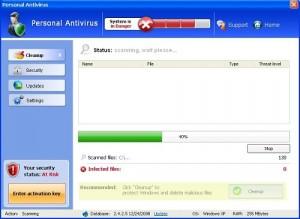 Personal Antivirus screenshot