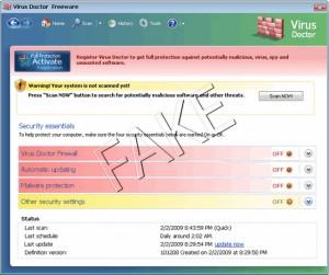 Virus Doctor rogue anti-spyware