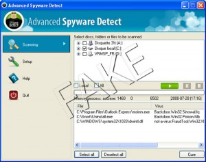 Advanced Spyware Detect rogue anti-spyware