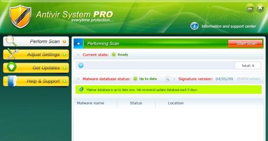 Antivir System PRO
