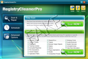 Registry Cleaner Pro fake registry cleaner