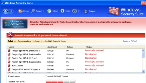 Windows Security Suite