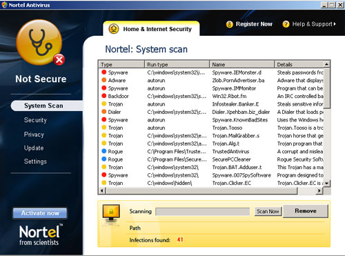 Nortel Antivirus