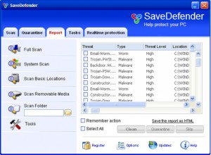 savedefender rogue anti-spyware