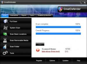 GreatDefender rogue anti-spyware