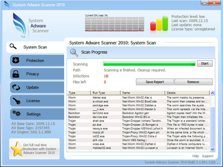 related image #1 from System Adware Scanner 2010