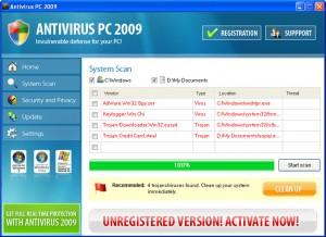 antivirus pc 2009 rogue anti-spyware
