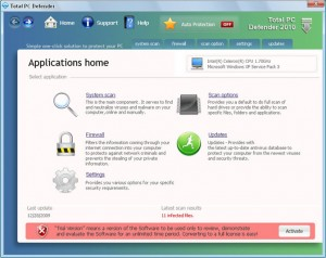 total pc defender rogue anti-spyware