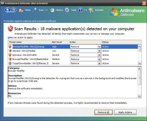 related image #1 from AntiMalware Defender