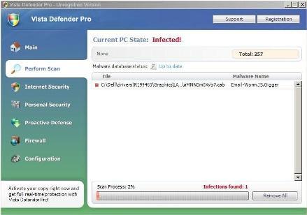 Vista Defender Pro