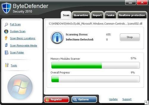 ByteDefender Security 2010