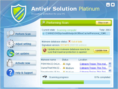 Antivir Solution Platinum