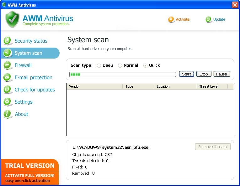 related image #1 from AWM Antivirus