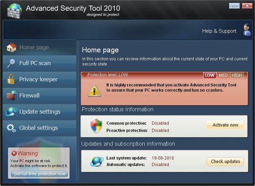 related image #1 from Advanced Security Tool 2010