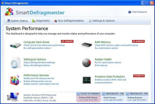 related image #1 from Smart Defragmenter