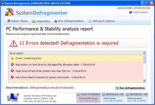 related image #1 from System Defragmenter