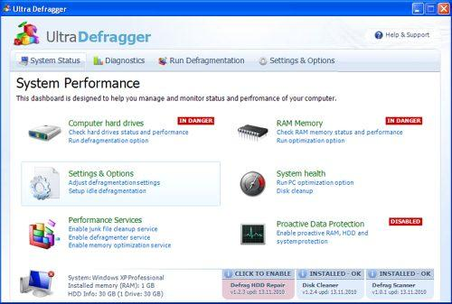 related image #1 from Ultra Defragger