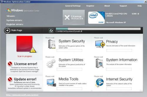 Windows Optimization Center