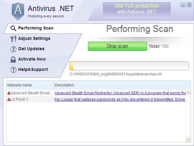Antivirus .NET