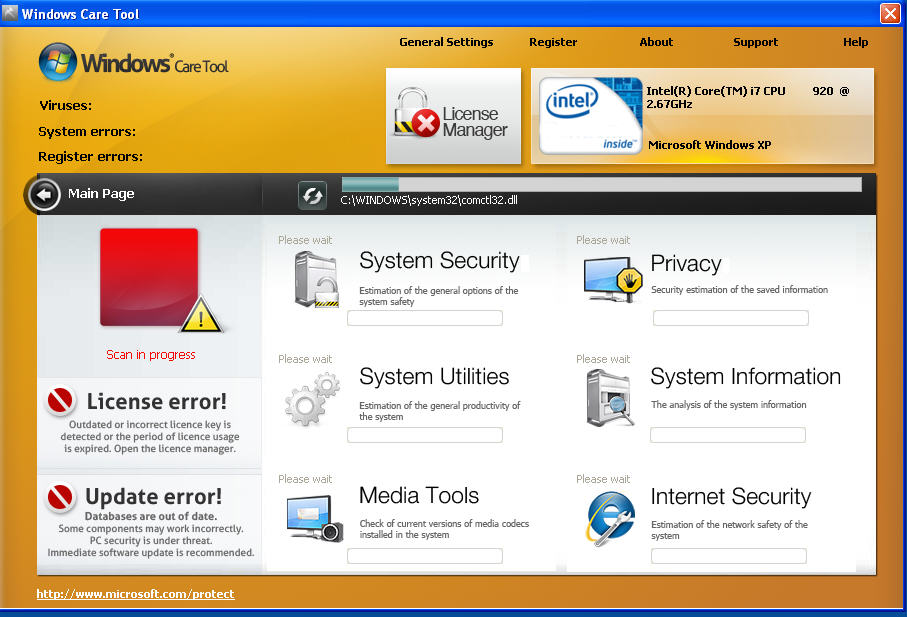 Windows Care Tool