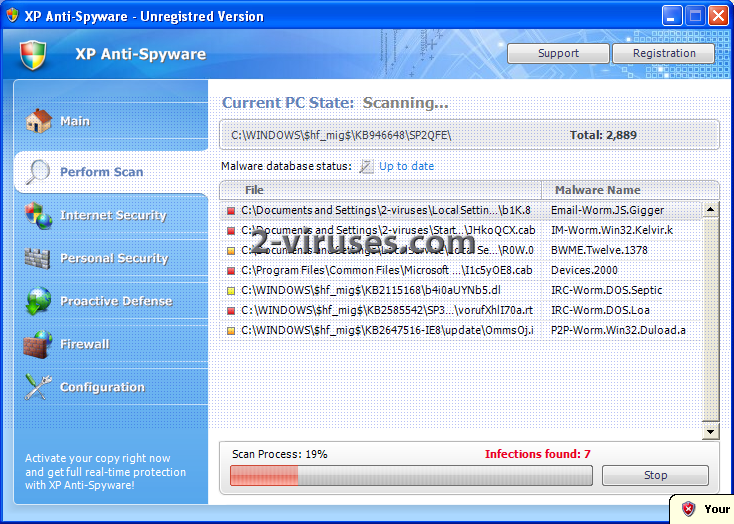 XP Anti-Spyware