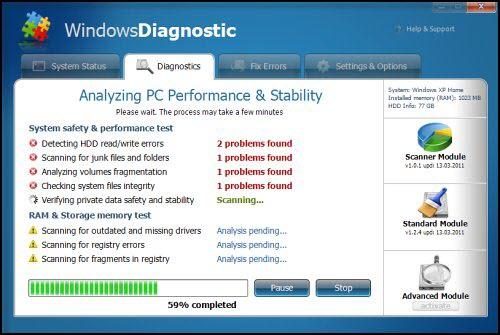 Windows Diagnostic