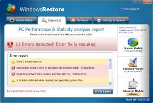 WindowsRestore
