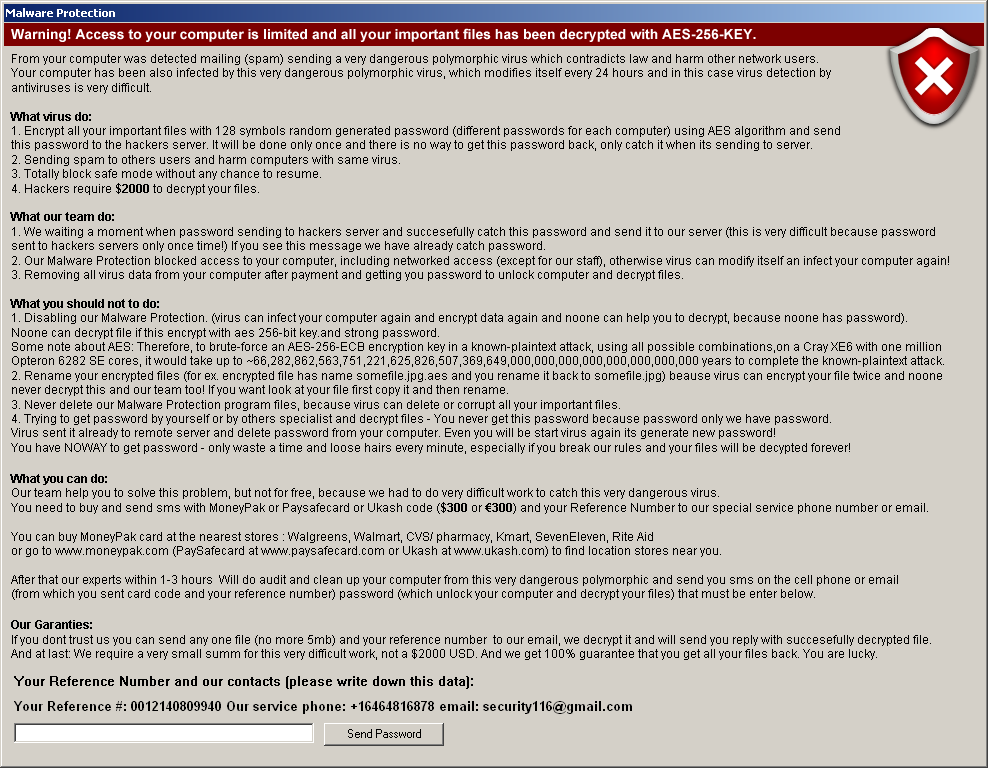 Malware Protection ransomware - How to remove - 2-viruses com