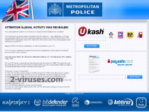 related image #1 from Ukash Virus