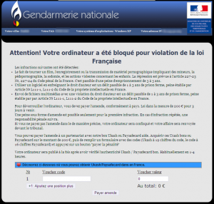 related image #1 from Gendermerie Nationale virus