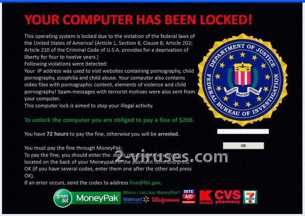 related image #1 from FBI Moneypak Virus