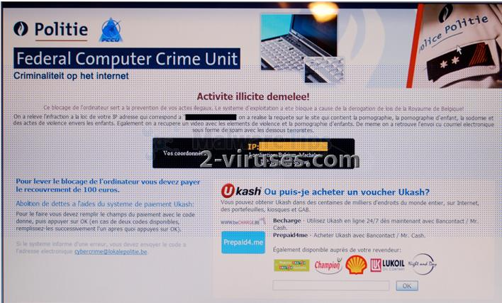 Control Department Gegen Cyberkriminalität virus
