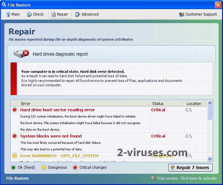 related image #1 from File Restore (virus)
