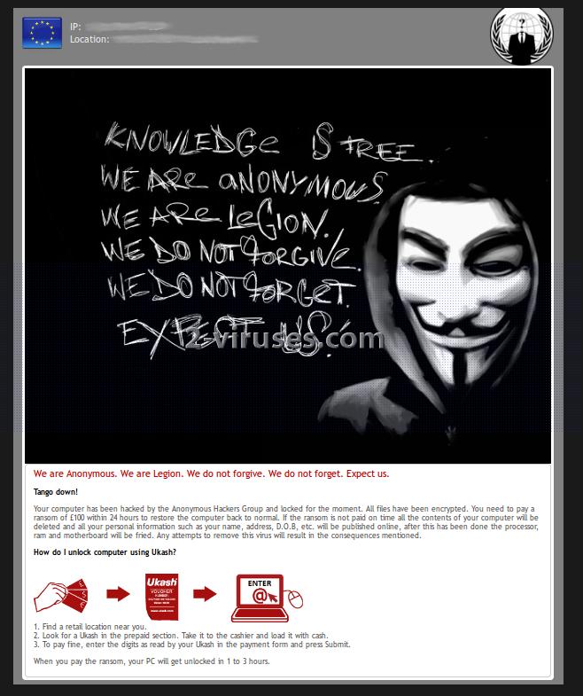 Anonymous virus