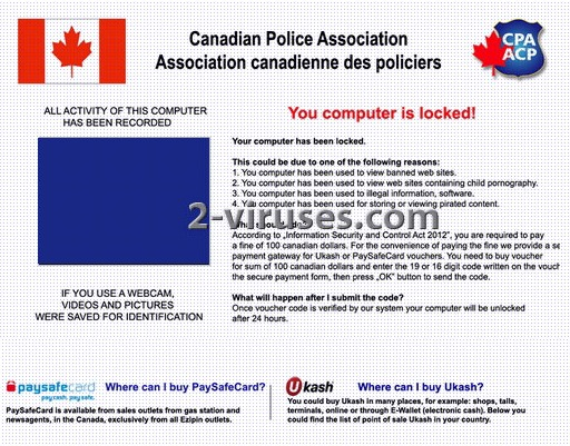 Canadian Police Association Virus