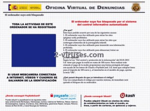 Oficina virtual de denuncias virus c mo eliminar for Oficina de denuncias
