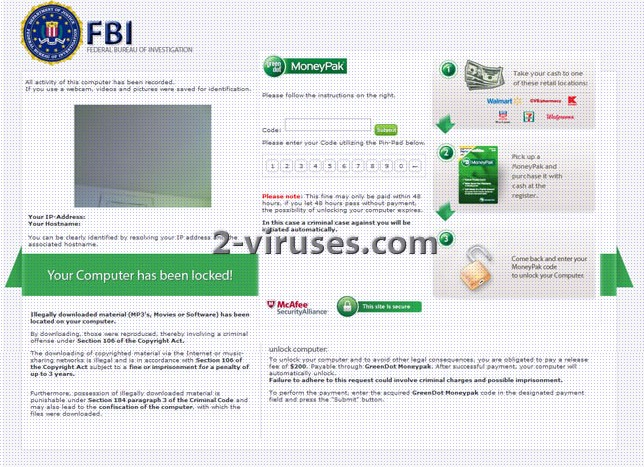 related image #1 from Green Dot Moneypak Virus