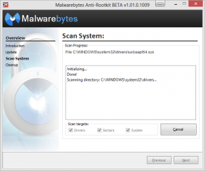 related image #1 from Malwarebytes anti-rootkit
