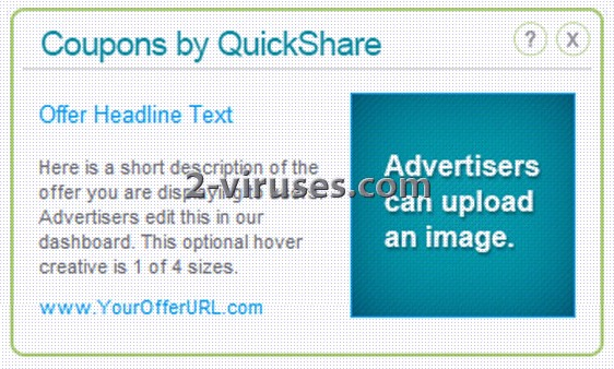 Coupons by QuickShare - How to remove - 2-viruses.com