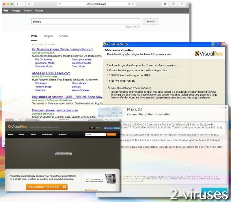 Delta-search.com hijacker