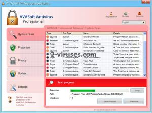 AVASoft_Antivirus_Professional