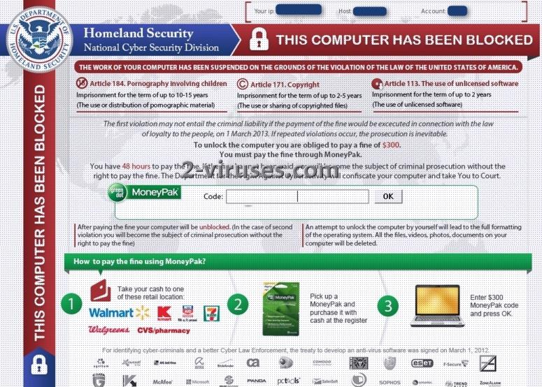 related image #1 from Homeland Security virus