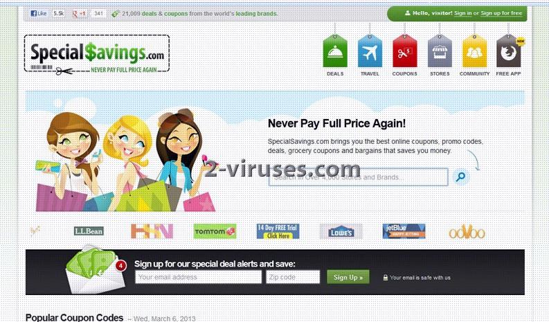 ad coupon virus
