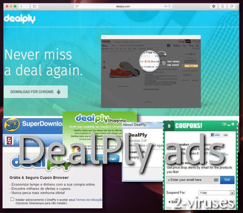 DealPly extension virus