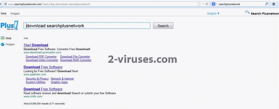 related image #1 from SearchPlusNetwork Virus