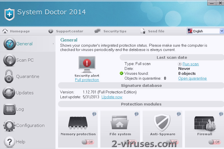 related image #1 from System Doctor 2014