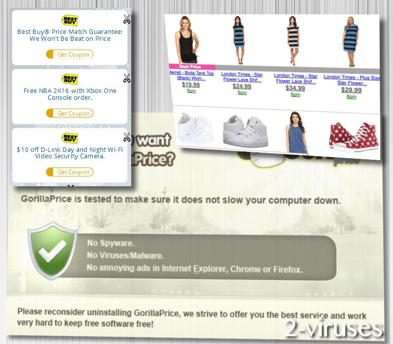 related image #1 from GorillaPrice Adware