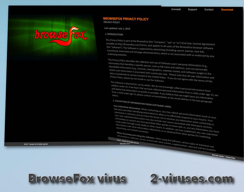 BrowseFox virus